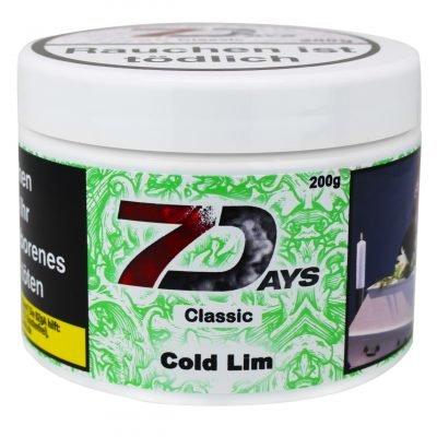 7 Days Classic Cold Lim