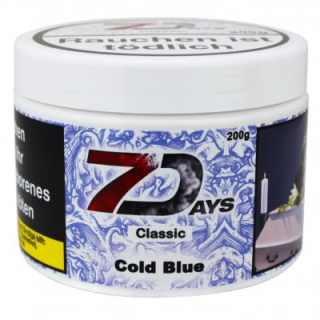 7 Days Classic Cold Blue