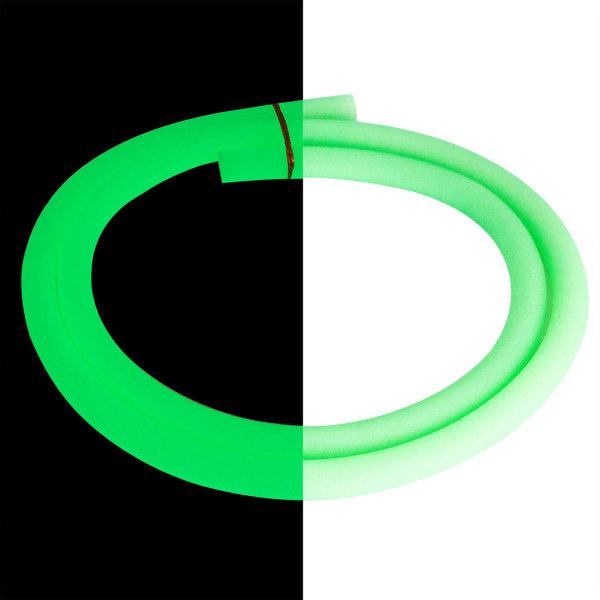 Silikonschlauch Glow Grün