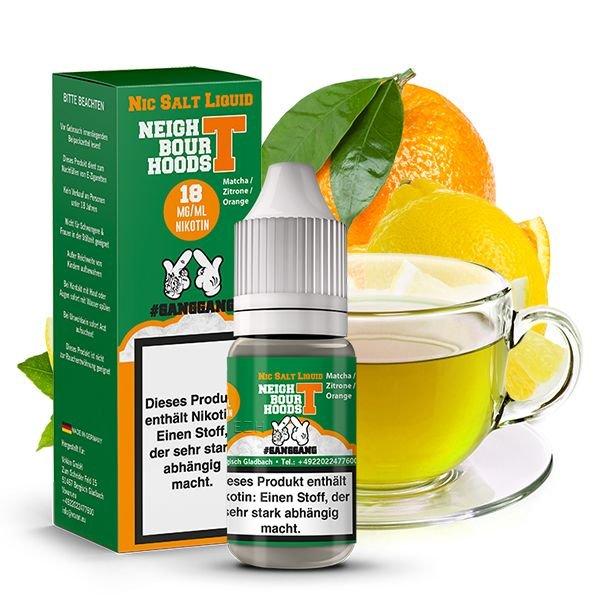 Ganggang Neightbour Hoods t Nikotinsalz Liquid 10 ml 18mg