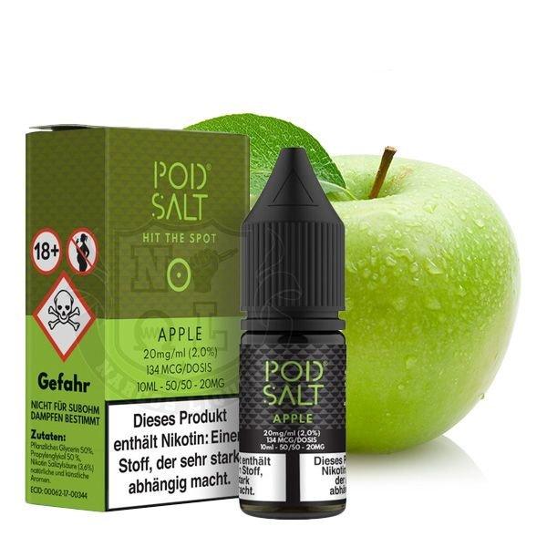 Pod Salt Apple Nikotinsalz Liquid 10 ml 20mg
