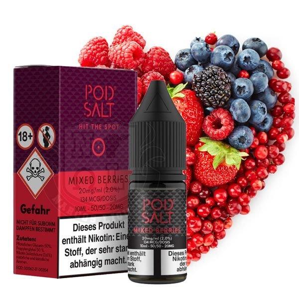 Pod Salt Mixed Berries Nikotinsalz Liquid 10 ml 20mg