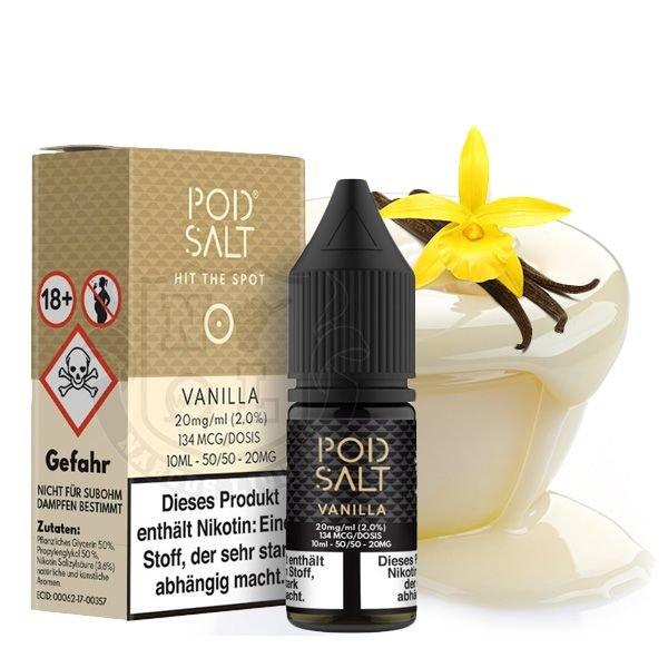 Pod Salt Vanilla Nikotinsalz Liquid 10 ml 11mg