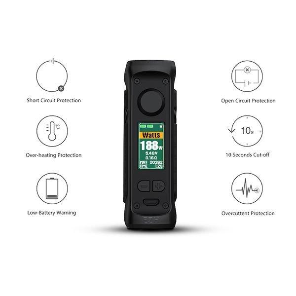 Vandy Vape Jackaroo Dual Mod Akkuträger resin-red-agate