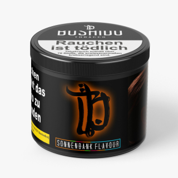 Bushido Sonnenbank Flavour + Shot