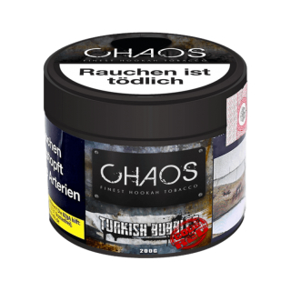 Chaos Turkish Bubbles Code Red